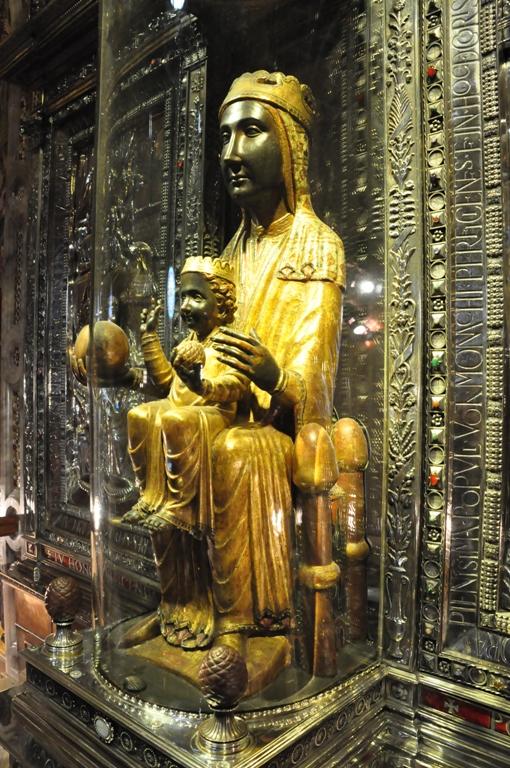 La Moreneta, the Black Madonna