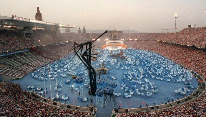 Celebration of the Olympic Games in Barcelona - 1992