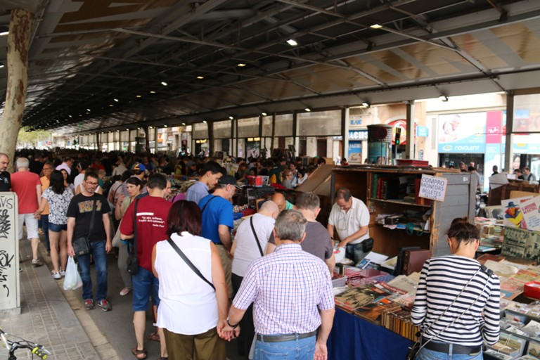 Mercat dominical in Sant Antoni