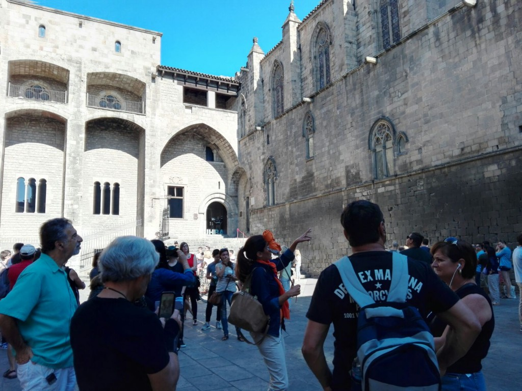 Picasso tour around the Gothic Quarter
