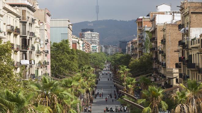 Barcelona 18.08.2016 Jardines de la Rambla de Sants un dia antes de su apertura Fotografia Albert Bertran
