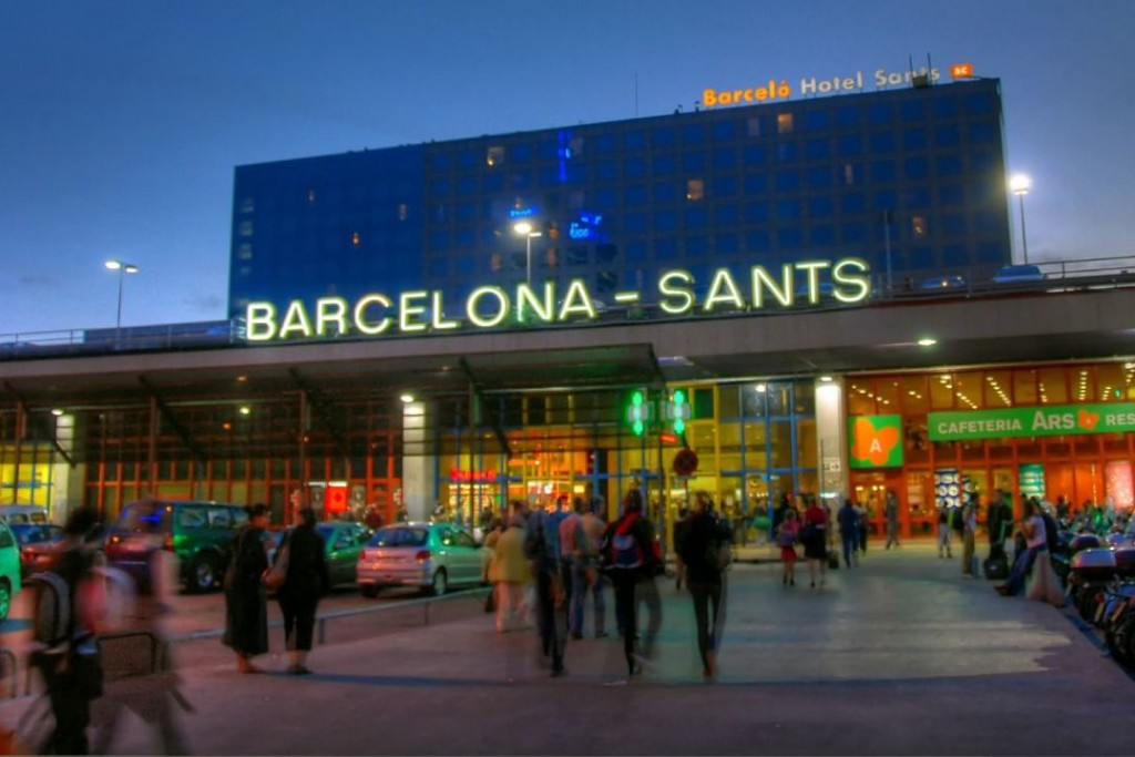Sants-Estació-Barcelona