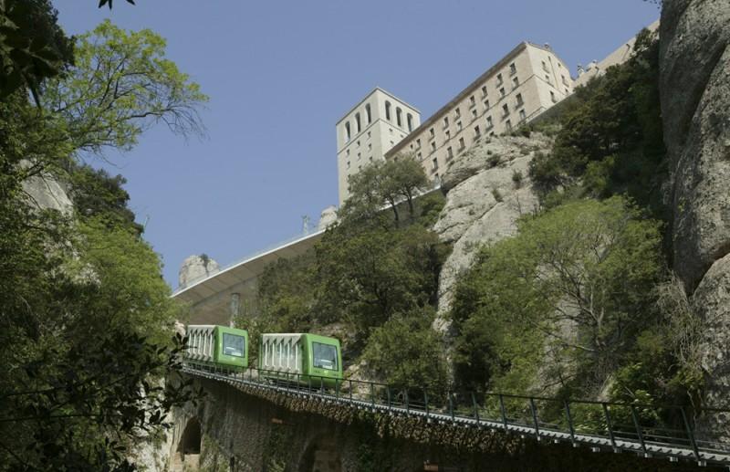 Funicular of Santa Cova