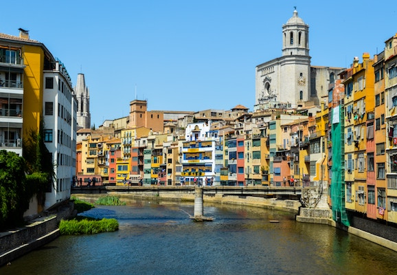 The beautiful city of Girona