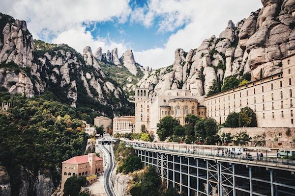 Panoramic of Montserrat