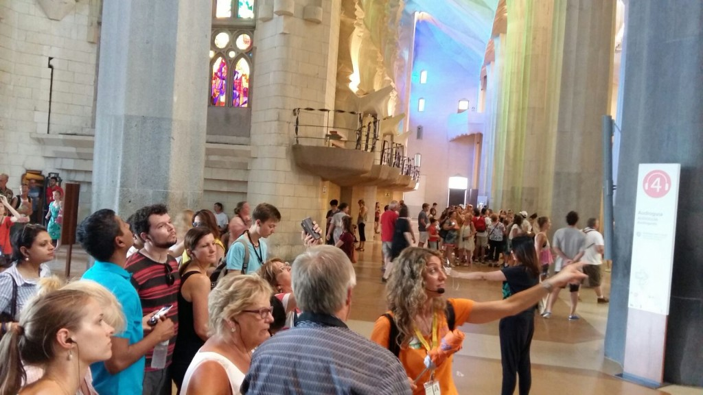 Gaudí- Sagrada família tour
