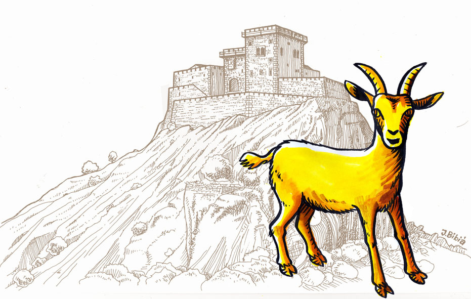 The golden goat