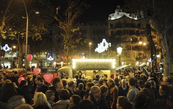 Shopping night Barcelona 2012
