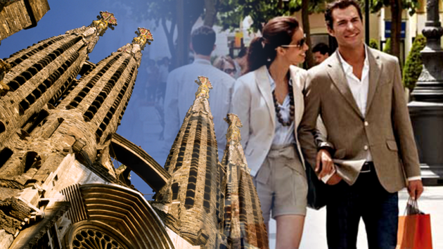 Gaudi and Shopping Tour