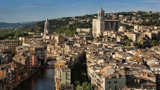 Girona and the Onyar River