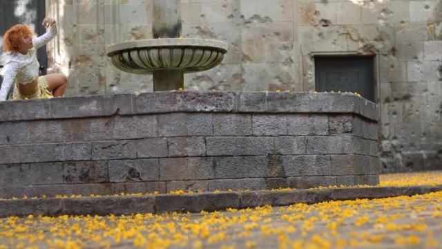Dancing in Plaça Sant Felip Neri - Gothic Quarter by Sonia Crespo