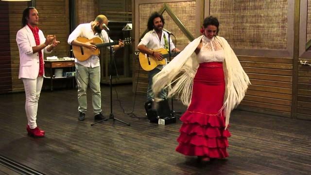 """Dancers of """"Rumba Catalana"""""""