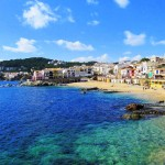 One of the beaches you can enjoy in Catalonia, Calella beach