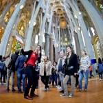 Guided tour inside Sagrada Familia temple